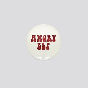 Angry Elf Mini Button