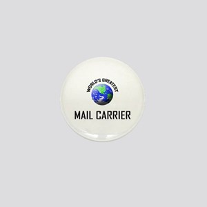 World's Greatest MAIL CARRIER Mini Button