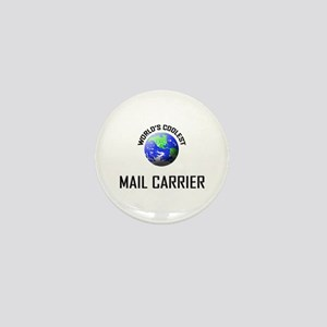 World's Coolest MAIL CARRIER Mini Button