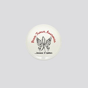Brain Tumor Butterfly 6.1 Mini Button