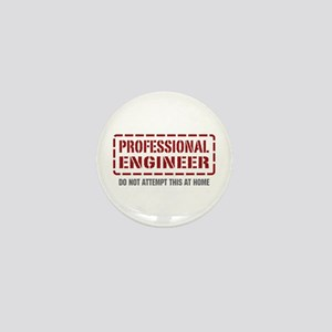 Professional Engineer Mini Button