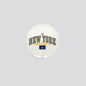 NY Hockey Mini Button