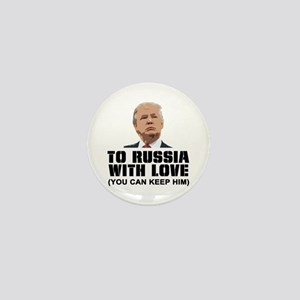 To Russia With Love Mini Button