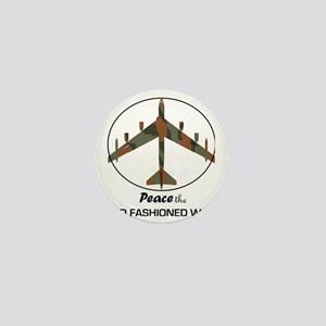 B-52 Stratofortress Peace the Old Fash Mini Button