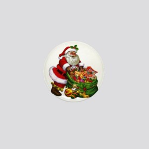 Santa Claus! Mini Button