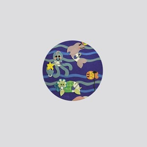 Undersea Nursery Mini Button