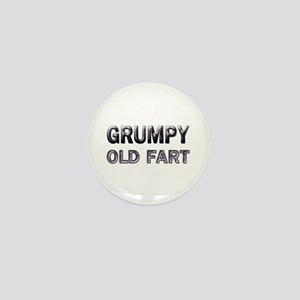 grumpy old fart Mini Button