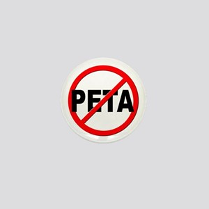 Anti / No PETA Mini Button