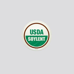 USDA Soylent - Mini Button