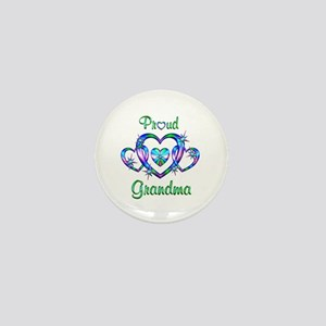 Proud Grandma Mini Button