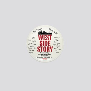 New West Side Mini Button