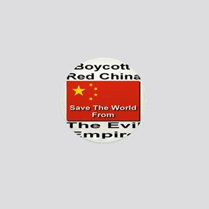 boycott_china_savetheworld_2010 Mini Button