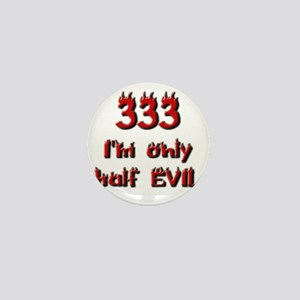 half evil 01 Mini Button