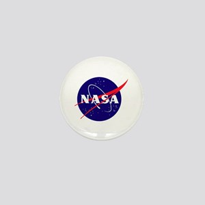 NASA Meatball Logo Mini Button