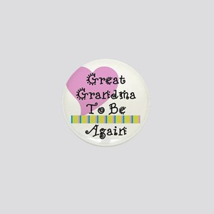 GreatGrandmaAgain_Stripes Mini Button