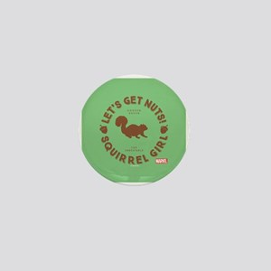 Squirrel Girl Let's Get Nuts Mini Button