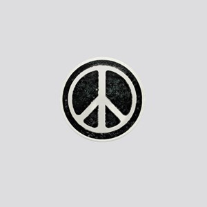Original Vintage Peace Sign Mini Button