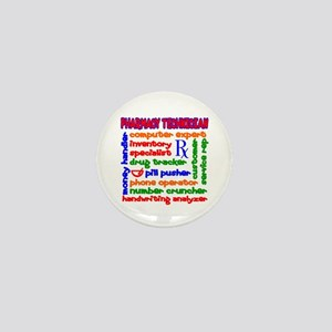 Pharmacy Technician Mini Button