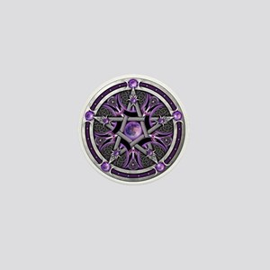 Pentacle of the Purple Moon Mini Button