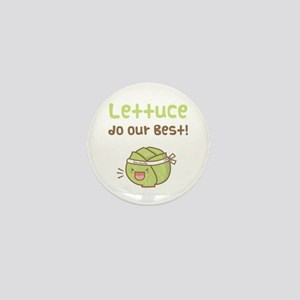 Kawaii Lettuce Do Our Best Vegetable Pun Mini Butt