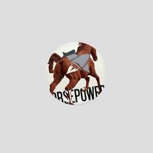 Horsepower Mini Button