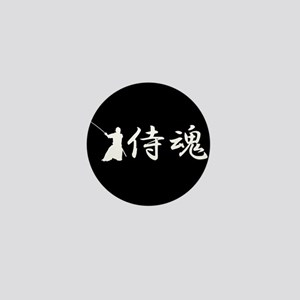 Samurai spirit Mini Button