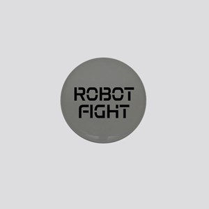 Robot Fight Mini Button