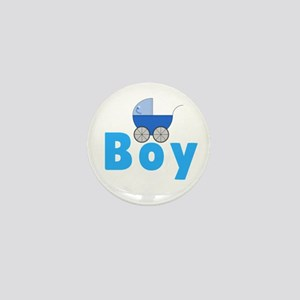 Its A Boy Gender Reveal Mini Button