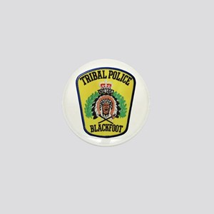 Tribal Police Blackfoot Mini Button