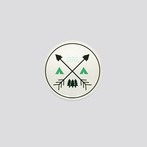 Camping Patch Mini Button