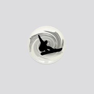 SNOWBOARD Mini Button