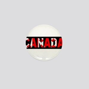 CANADA-BLACK Mini Button