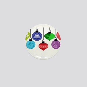Christmas Ornaments Mini Button
