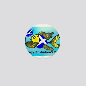 Happy St. Andrews Day Mini Button