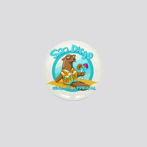 San Diego Seal of Approval Mini Button