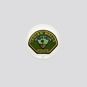 Indian Wells Police Mini Button