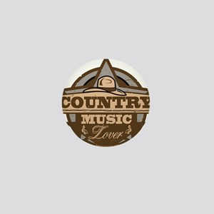 Country Lover Mini Button