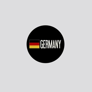Germany: Germany & German Flag Mini Button
