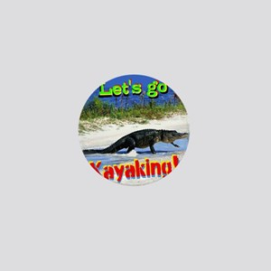 Lets Go Kayaking! Mini Button