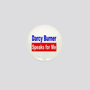 Darcy Burner Speaks for Me Mini Button