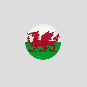 Flag of Wales Mini Button