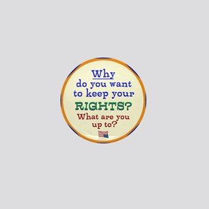 Constitutional Rights Mini Button