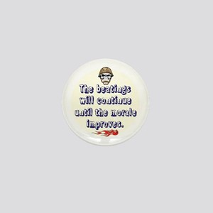 Morale Booster Mini Button