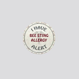 BEE STING ALLERGY Mini Button