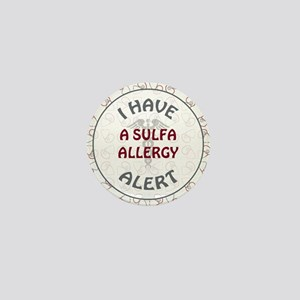 A SULFA ALLERGY Mini Button