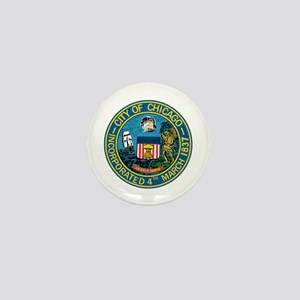 City of Chicago Seal Mini Button