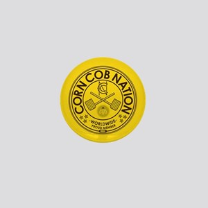 Corn Cob Nation Mini Button