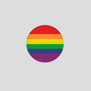 Gay Pride Flag Mini Button