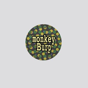 Monkey Burp Mini Button