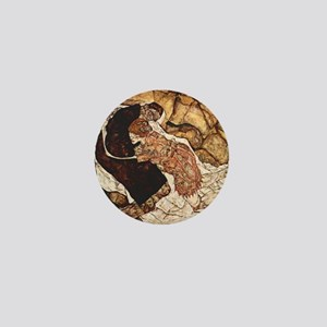 Egon Schiele Death And The woman Mini Button